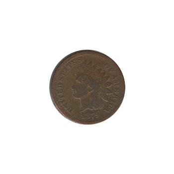 Indian Head Cent 1879 G-VG
