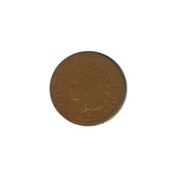 Indian Head Cent 1881 G-VG