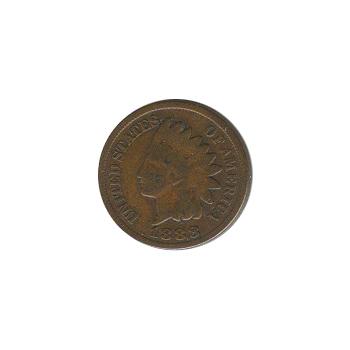 Indian Head Cent 1888 G-VG