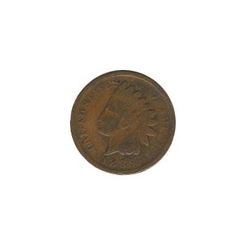 Indian Head Cent 1889 G-VG