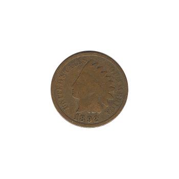 Indian Head Cent 1892 G-VG