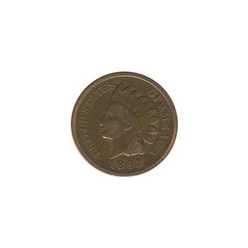 Indian Head Cent 1893 G-VG