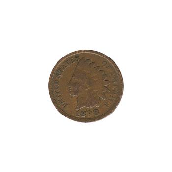 Indian Head Cent 1898 G-VG
