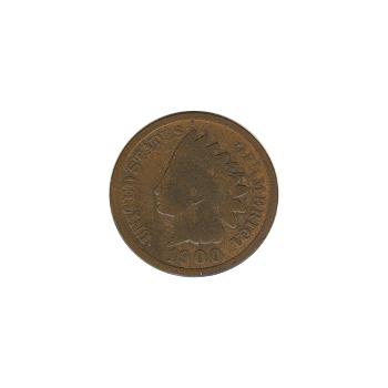 Indian Head Cent 1900 G-VG