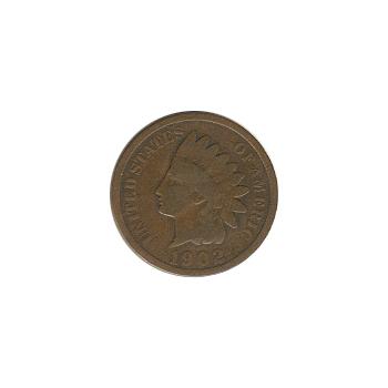 Indian Head Cent 1902 G-VG