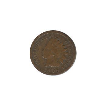 Indian Head Cent 1905 G-VG