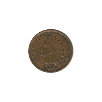 Indian Head Cent 1906 G-VG
