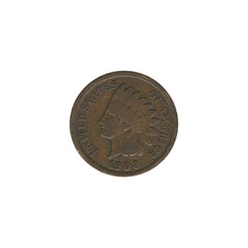 Indian Head Cent 1908 G-VG