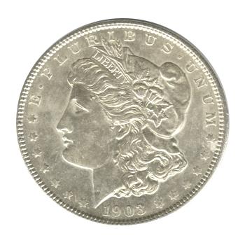 Morgan Silver Dollar Uncirculated 1903