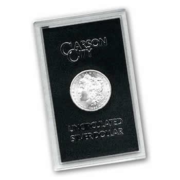 **SALE** Carson City Morgan Silver Dollar 1884-CC Uncirculated GSA