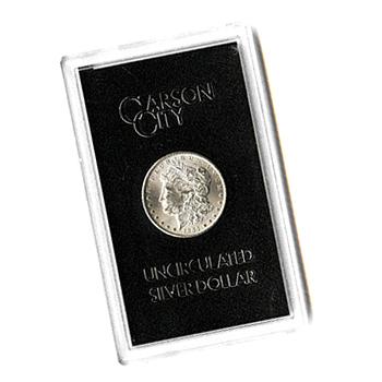 Carson City Morgan Silver Dollar 1881-CC Uncirculated GSA