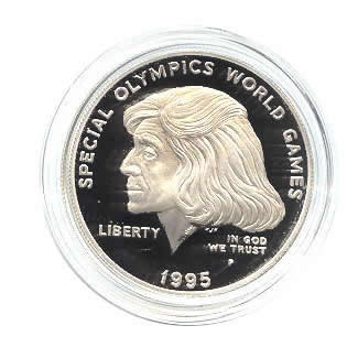 US Commemorative Dollar Proof 1995-P Special Olympics