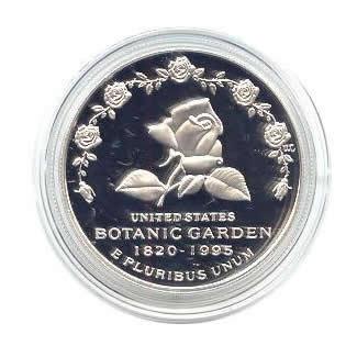 US Commemorative Dollar Proof 1997-P Botanic Gardens
