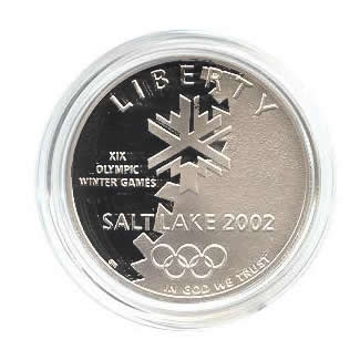 US Commemorative Dollar Proof 2002-P Olympic