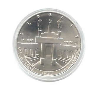 US Commemorative Dollar Uncirculated 1984-P Olympic