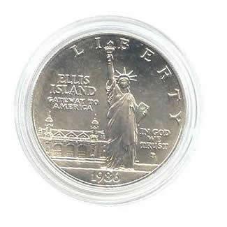US Commemorative Dollar Uncirculated 1986-P Statue of Liberty