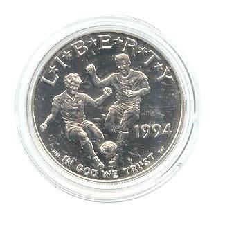 US Commemorative Dollar Uncirculated 1994-D World Cup
