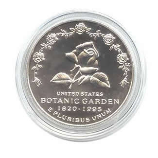 US Commemorative Dollar Uncirculated 1997-P Botanic Gardens