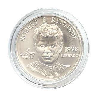 US Commemorative Dollar Uncirculated 1998-S R.F.K.