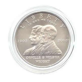 US Commemorative Dollar Uncirculated 2003-P First Flight