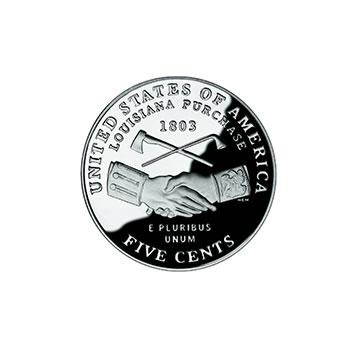 Proof Jefferson Nickel 2004-S Peace