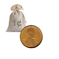 Lincoln Wheat Cents 1910-19 1000 pcs.