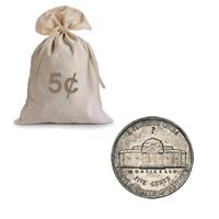 War Nickels Circulated 1000 pcs.