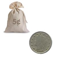 Liberty V Nickel Circulated - Good Obverse (100 pcs.)