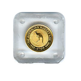 Australian Gold Nugget / Kangaroo Tenth Ounce (dates our choice)