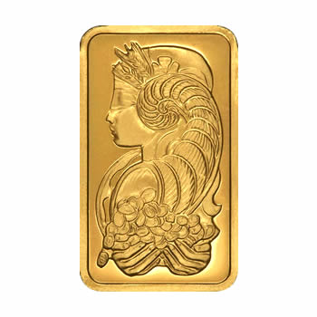 PAMP Suisse Five Ounce Gold Bar