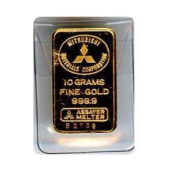 10 Gram Gold Bar - Random Manufacturer