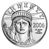Platinum American Eagle One Ounce (dates our choice)