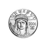 Platinum American Eagle Quarter Ounce (dates our choice)