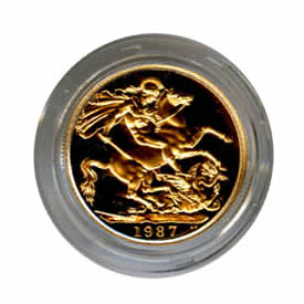 Great Britain 2lb Two Pound Proof Gold Coin (weight .4708) Dates Our Choice