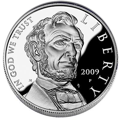 US Commemorative Dollar Proof 2009 Lincoln