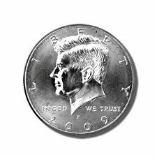 Kennedy Half Dollar 2009-P BU