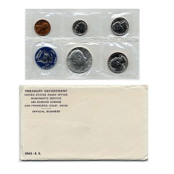 Special Mint Set 1965 SMS