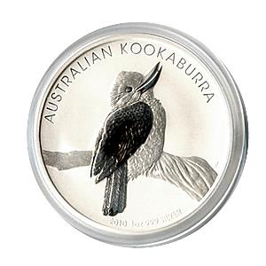 Australian Kookaburra 1 oz. Silver 2010