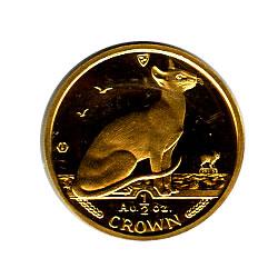Isle of Man Gold Cat Half Ounce 1992