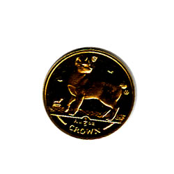 Isle of Man Gold Cat Fifth Ounce 1994