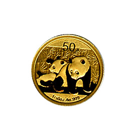 Chinese Gold Panda 10th Ounce 2010 (Fresh out of plastic)