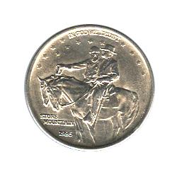 US Commemorative Half Dollar 1925 Stone Mountain BU
