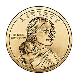 Sacagawea Dollar 2010-D BU