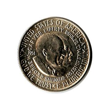 US Commemorative Half Dollar 1951 Washington Carver BU