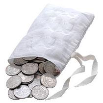 Peace Dollars Very Good to Extra Fine 1000 pcs.