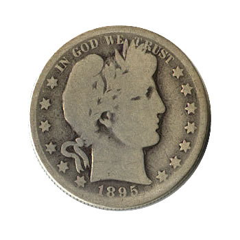 Barber Silver Quarters Circulated - Good Obverse (100 pcs.)