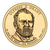 Presidential Dollars Ulysses S Grant 2011-D 25 pcs (Roll)