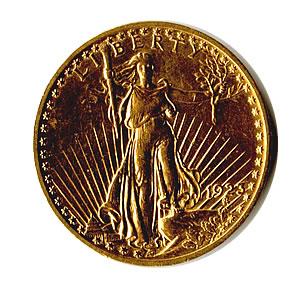 Early Gold Bullion $20 Saint Gaudens Jewelry Grade