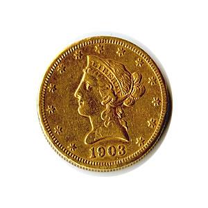 Early Gold Bullion $10 Liberty Jewelry Grade