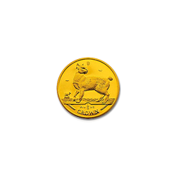 Isle of Man Gold Cat 25th Ounce 1994